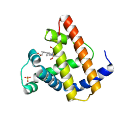 Molmil generated image of 1mbo