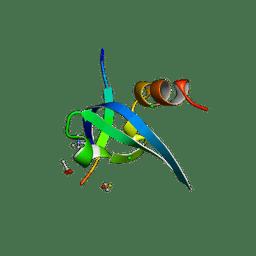 Molmil generated image of 1pfb