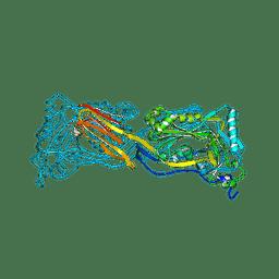 Molmil generated image of 1pfo