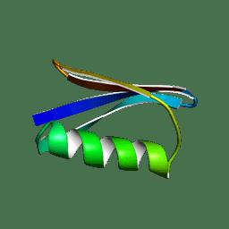Molmil generated image of 1pga