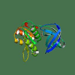 Molmil generated image of 1qfj