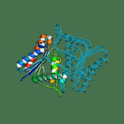 Molmil generated image of 1tik