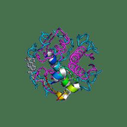 Molmil generated image of 1uz9