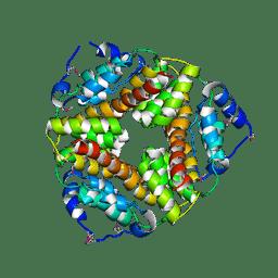 Molmil generated image of 2af7