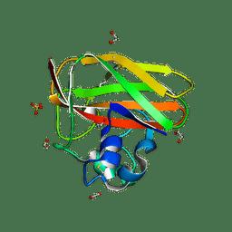 Molmil generated image of 2bem