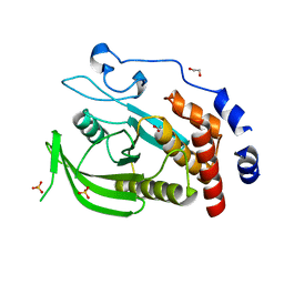 Molmil generated image of 2bzl