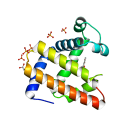Molmil generated image of 2eb9