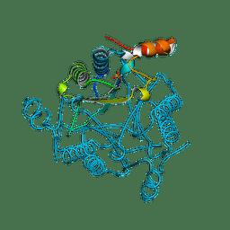 Molmil generated image of 2flz