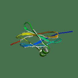 Molmil generated image of 2haz