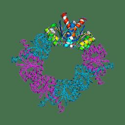 Molmil generated image of 2hmv