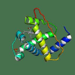 Molmil generated image of 2myb