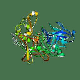 Molmil generated image of 2vij