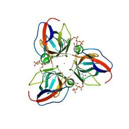 Molmil generated image of 2xce