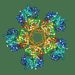 Molmil generated image of 3bfj