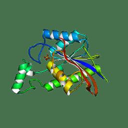 Molmil generated image of 3e9e
