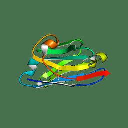 Molmil generated image of 3eak
