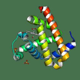 Molmil generated image of 3eda