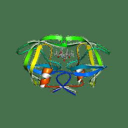 Molmil generated image of 3gga