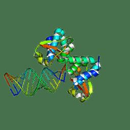 Molmil generated image of 3ks8