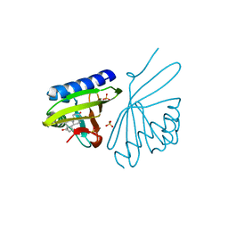 Molmil generated image of 3nbr