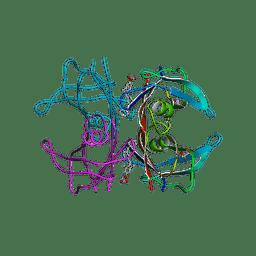 Molmil generated image of 3nex
