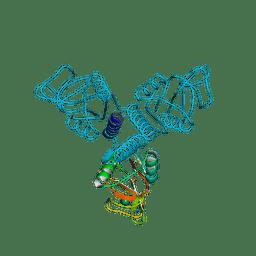 Molmil generated image of 3pak