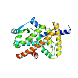 Molmil generated image of 3pba