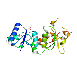 Molmil generated image of 3pxc