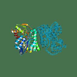 Molmil generated image of 3rua