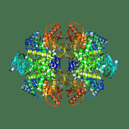 Molmil generated image of 3srf