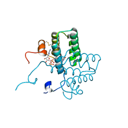 Molmil generated image of 3tk0