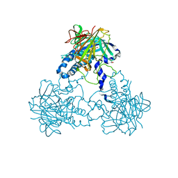 Molmil generated image of 4clf