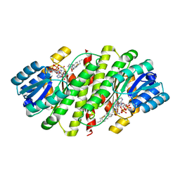 Molmil generated image of 4hfr