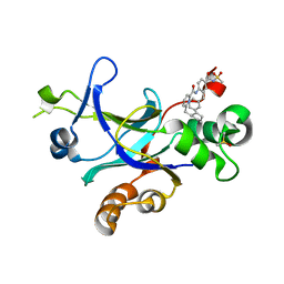 Molmil generated image of 4p2t