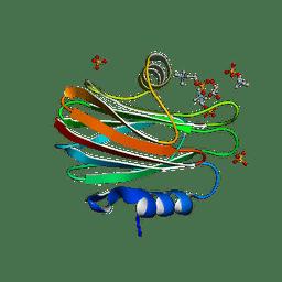 Molmil generated image of 4tsn