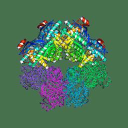 Molmil generated image of 5fju