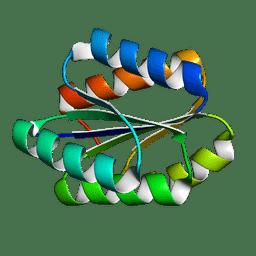 Molmil generated image of 5gaj