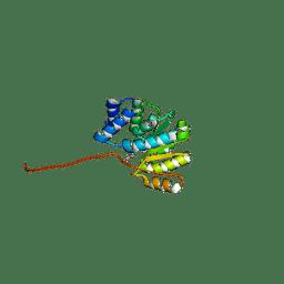 Molmil generated image of 5p9u