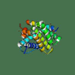 Molmil generated image of 5uum
