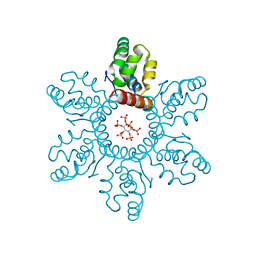 Molmil generated image of 6bhr