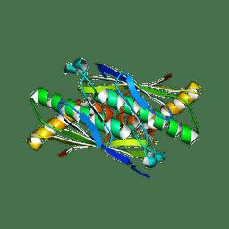 Molmil generated image of 6ebc