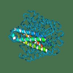 Molmil generated image of 6ek9