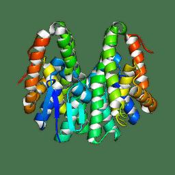 Molmil generated image of 6kem