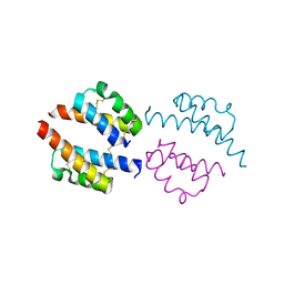 Molmil generated image of 6pcf