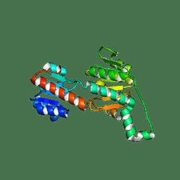 Molmil generated image of 6pex