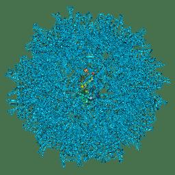 Molmil generated image of 6ssj