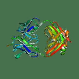 Molmil generated image of 6ubi