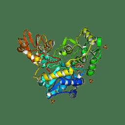 Molmil generated image of 6yjv