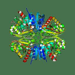 Molmil generated image of 6ynf